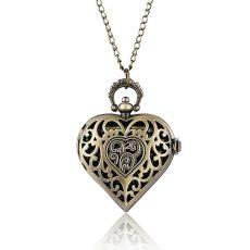 Chain Heart Bronze nyakláncóra *  tárcában