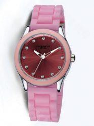 EYKI Overfly S Pink _ Sportosan divatos rózsaszín női szilikon karóra
