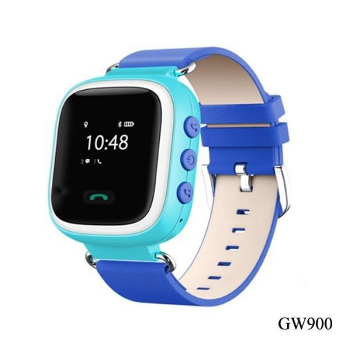Gyerek okosóra GPS funkcióval - Kék GW900 8ac8e0404b