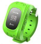 Gyerek okosóra GPS funkcióval - Zöld