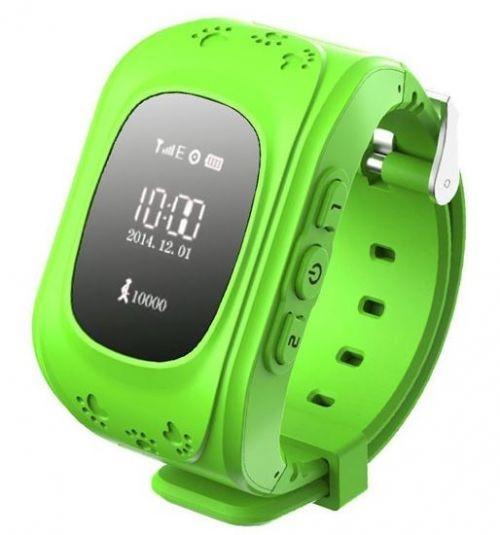 Gyerek okosóra GPS funkcióval - Zöld e787161a4c