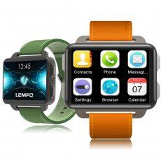 LEMFO LEM4 Pro Okos óra Android 5.1 Szuper nagy kijelzővel 1200 Mah Lithium akkumulátorral 1GB + 16G