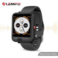 LEMFO LEM11 4G Okos Óra Android 7.1 3GB 32GB Videó Hívó 1200mah Power Bank Vezeték nélküli Bluetooth Beszélő Cserélhető Szíjjal