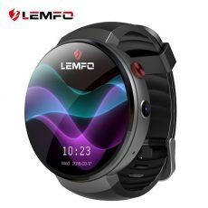 Lemfo LEM7 Android 7.0 Okosóra LTE 4G Okos ora Telefon szívritmus figyelő 1 GB + 16 GB memória kamerával Fordító eszköz