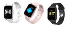 LIGE Női Vízálló Okos Óra Sport IOS és Android telefonokhoz Pulzusmérővel és Vérnyomásmérővel