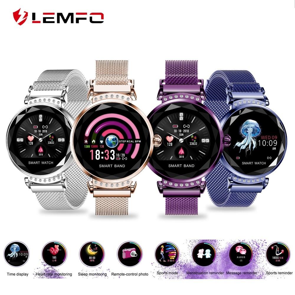 Lemfo H2 női okosóra - négy féle színben - aktivitásmérő android bluetooth 1ac20dfd2b