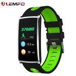 Lemfo N68 Bluetooth okos fitness karkötő Vízálló Érintőképernyős vitalitásmèfő Pulzusmérő Smartband karkötő Android IOS telefonhoz