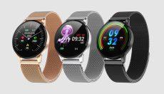 MELANDA S16 Új Fitness Okos óra nőknek pulzusmérővel és lépésszámláló Sport funkciókkal
