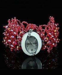 PEARLY Pretty - Red női karóra, karkötőóra