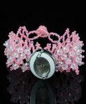 PEARLY Pretty - Pink női karóra, karkötőóra