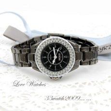 Sinobi Cosmopolitan Black Crystal 40mm_Modern, divatos unisex karóra