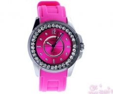 Sinobi New Collection Pink _ Kristályos, divatos női karóra