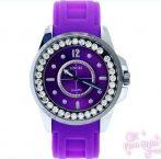 Sinobi New Collection Purple _ Kristályos, divatos női karóra