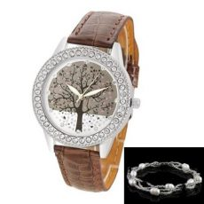 Tree of Life Crystal Silver gyöngy karkötővel