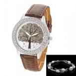 Tree of Life Crystal Silver * gyöngy karkötővel